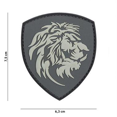 101 inc - Patch 3D PVC Dutch lion grey