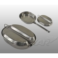 TEXAR - Stainless steel mess kit US