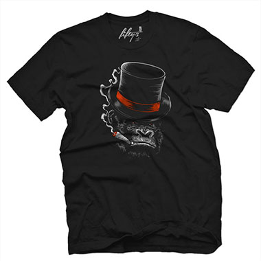Fifty5 Clothing - Like A Boss Men's T Shirt - Black
