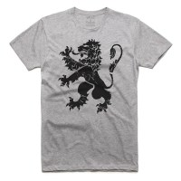 Fifty5 Clothing - Lion Royalty Men's T Shirt - Athletic Heather