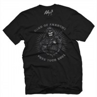 Fifty5 Clothing - King Of Anarchy Men's T Shirt - Black