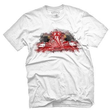 Fifty5 Clothing - Formula One Men's T Shirt - White