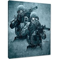 7.62 Design - Rude Awakening Canvas Print