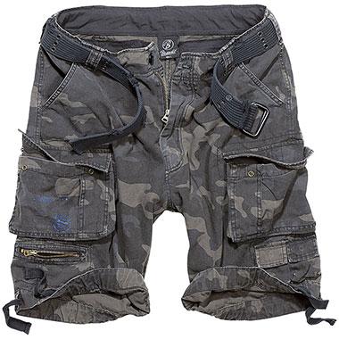Brandit - Savage Vintage Shorts - Dark Camo