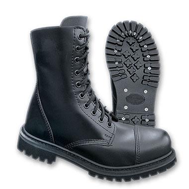Brandit -  Phantom Boots 10 eyelet - Black