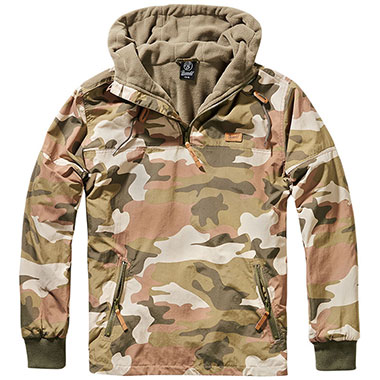 Brandit - Luke Windbreaker - Light Woodland