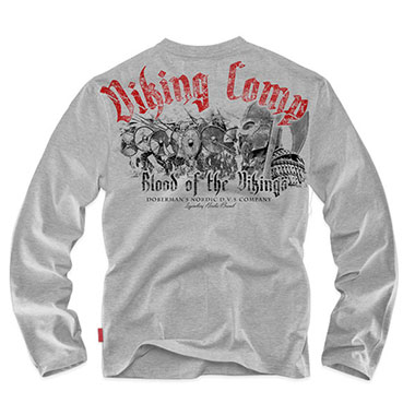 Dobermans - Longsleeve Viking Comp - Grey