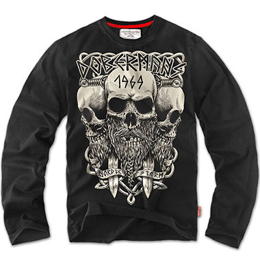 Dobermans - Longsleeve Viking - Black