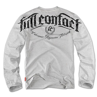 Dobermans - Longsleeve Full Contact LS61 - Grey