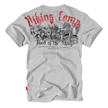 Dobermans - Viking Comp T-shirt - Grey