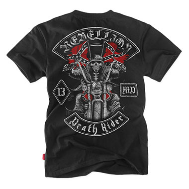 Dobermans - Death Rider T-shirt TS123 - Black