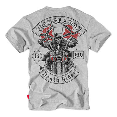 Dobermans - Death Rider T-shirt TS123 - Grey