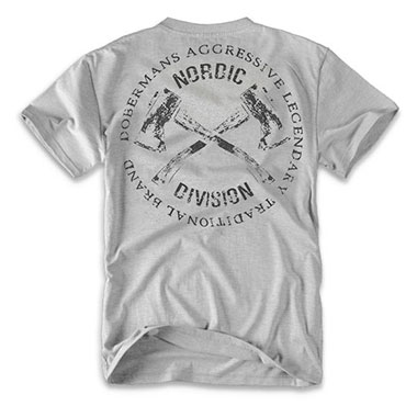 Dobermans - Hatchet II T-shirt - Grey