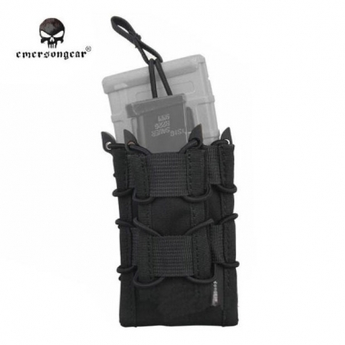 Emerson - Dual Decker Magazine Pouch - Black