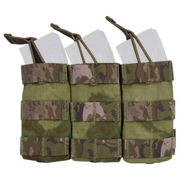 Emerson - Modular Triple Open Top Magazine Pouch - A-tacs FG