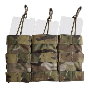 Emerson - Modular Triple Open Top Magazine Pouch - Multicam