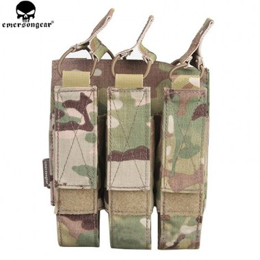 Emerson - Modular Triple MAG Pouch For:MP7 - Multicam