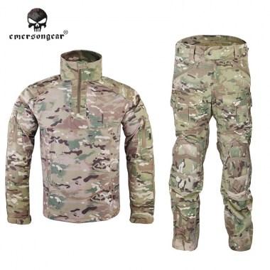 Emerson - Riot Style CAMO Tactical Uniform Set - Multicam