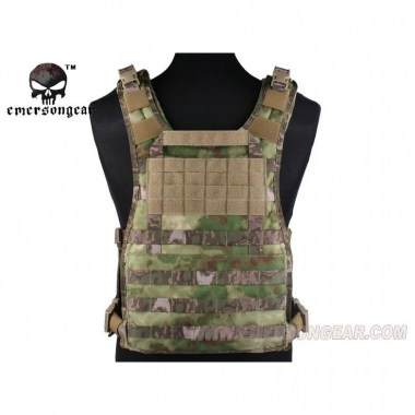 Emerson - MOLLE RRV Vest Back Panel - A-tacs FG