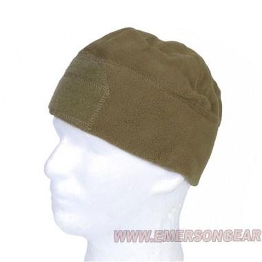 Emerson - Fleece Velcro Watch Cap - Coyote Brown