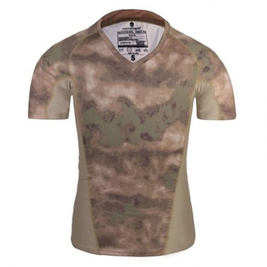 Emerson - Skin Tight Base Layer Camo Running Shirts - A-tacs FG
