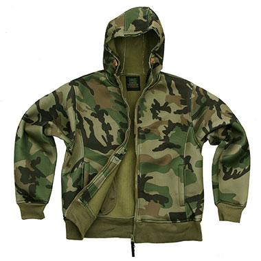 Fostex - Hooded vest- Woodland