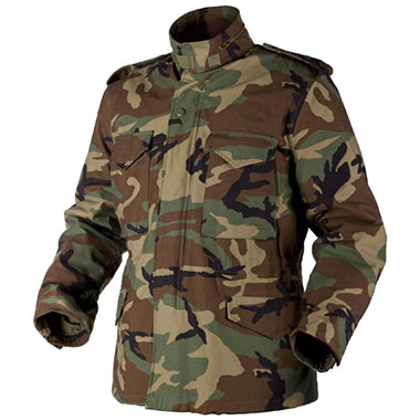 Helikon-Tex - M65 Jacket - Nyco Sateen - US Woodland
