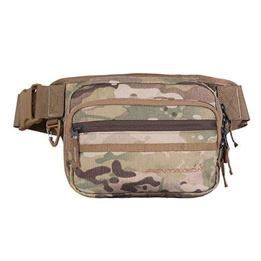 Pentagon - Runner Concealment Pouch - Multicam