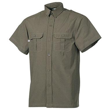 Max Fuchs - Outdoor Shirt short sleeves - OD green