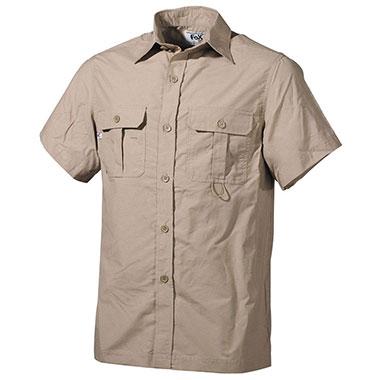 Max Fuchs - Outdoor Shirt short sleeves - Khaki