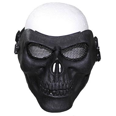Max Fuchs - Face Mask skull deco - Black