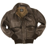 Sturm - US Brown A2 Leather Flight Jacket