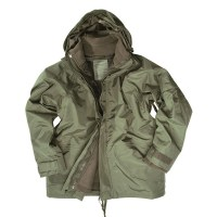 Sturm - OD Wet Weather Jacket with Fleece Liner