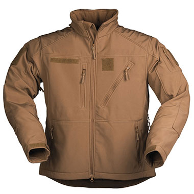 Sturm - SCU 14 Dark Coyote Softshell Jacket