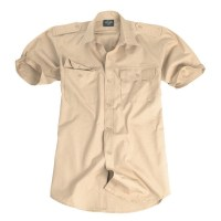 Sturm - Khaki Short Sleeve Tropical Shirt