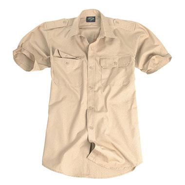 Sturm - Khaki Short Sleeve Tropical Shirt