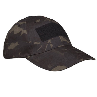 Sturm - Multitarn Black Tactical Baseball Cap