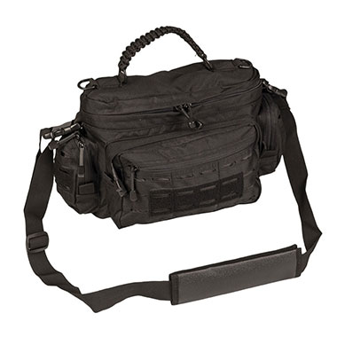 Sturm - Black Tactical Paracord Bag Small