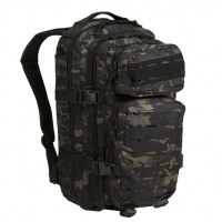 Sturm - US Multitarn Black Laser Cut Assault Backpack Small
