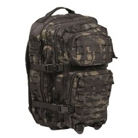 Sturm - US Multitarn Black Laser Cut Assault Backpack Large