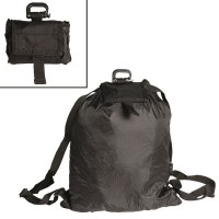 Sturm - Black Roll-Up Rucksack