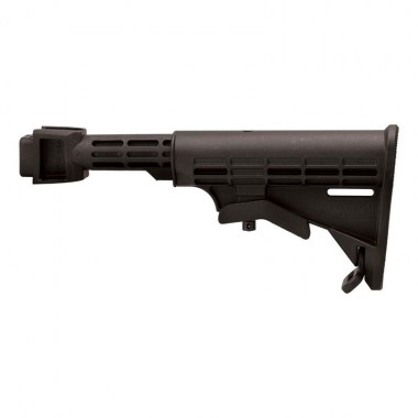 Tapco - AK T6 Stock, Milled Receiver - Black