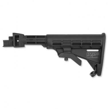 Tapco - AK T6 Collapsible Stock - Black