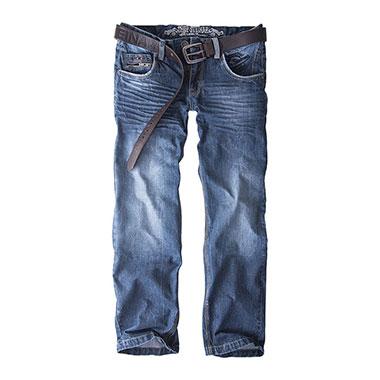 Thor Steinar - jeanstrouser Keldur - Denim Blue