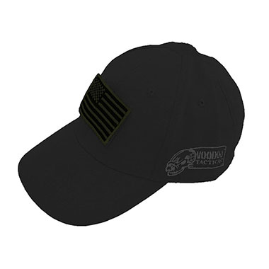 Voodoo Tactical - Caps w Velcro Patch - Black
