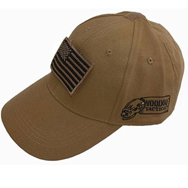 Voodoo Tactical - Caps w Velcro Patch - Coyote