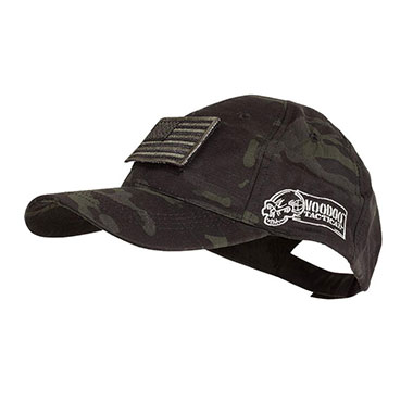 Voodoo Tactical - Caps w Velcro Patch - MultiCam Black