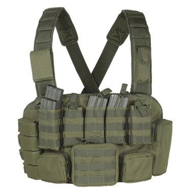 Voodoo Tactical - Tactical MOLLE Chest Rig - OD Green