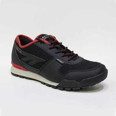 HI-TEC - SIERRA X-LITE LOW - Black / Red