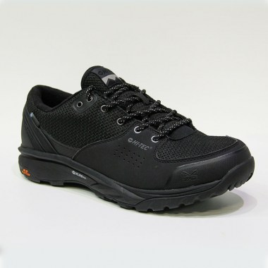 HI-TEC - V-LITE WILD-LIFE LOW I WP - Black / Cool Grey